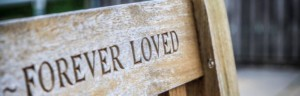 forever loved sign